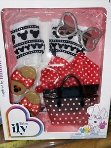 NEW Disney ily 4ever Inspired by Minnie Mouse Doll Dress Outfit ILY 4 Ever