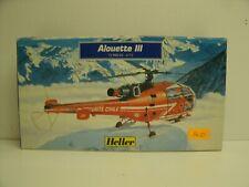 Heller 1/72 Alouette III Securite Civile Kit No. 80289