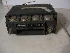 late 60s early 70s Mopar 8 track rare A B C body ?? Stereo 8