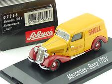 Schuco 02256 Mercedes MB 170 V W136 Deutsche Shell Aktien OVP SG 1601-30-11