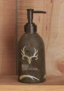 Bone Collector Lotion Pump Resin Soap Dispenser Deer Skull Logo Michael Waddell