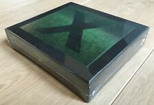 "Ed Sheeran Album ""X"" Limited Edition CD-Box ORIGINAL - SEALED - SOLD OUT - MINT"