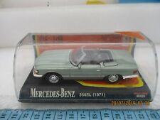 NEWRAY 48429 MERCEDES BENZ 350SL (1971) BOXED light green