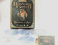BALDUR'S GATE II Shadows Of Amn Pc Original Balder's 2 BIG BOX PC GAME WIN 95/98
