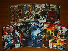 ULTIMATE POWER #1 - 9 SET (MARVEL) 2006 (9 ISSUES)