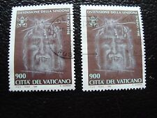 VATICAN - timbre yvert et tellier n° 1106 x2 obl (A28) stamp (T)