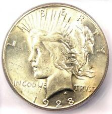 1928 Peace Silver Dollar $1 - Certified ICG MS63 (1928-P Key Date) - $750 Value!