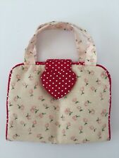 Accessorize Girls Hair Accessory Tidy, travel, washrag, simple. Floral Pink