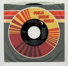 """ELVIS PRESLEY - THE ELVIS MEDLEY / ALWAYS ON MY MIND 7"""" 45 RPM VINYL SINGLE 1982"""
