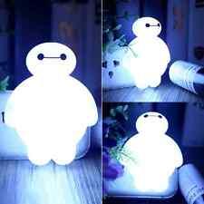 BayMax Sensor LED Night Light Bulb Energy Saving Cute Lamp Home Kid Gift HOT!
