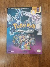 Pokemon Diamond & Pearl Walkthrough Guide With Poster Very Good
