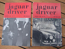 Jaguar Drivers Club Magazine 1966 Nos 67 68 Journal x2