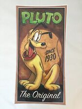 """Pluto The Original"" Giclee Art by Darren Wilson, Brand New"