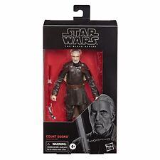 Star Wars COUNT DOOKU Black Series 6? Figure HASBRO DISNEY new Hot Toys Kids NIB