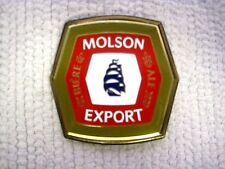 Century MOLSON EXPORT Ale Belt Buckle-Made in Canada-Collectible