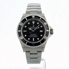 ROLEX SEA DWELLER 16600 40MM BLACK DIAL 12 MONTH GUARANTEE 2008