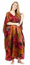 Up2date Fashion Satin Caftan in Vortex Print, Style Caf-80