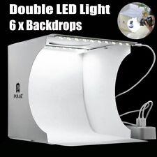 New Portable Photo Studio Lighting Mini Box Photography Backdrop LED Light Tent