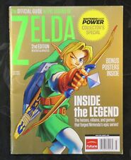 2011 Nintendo Power Legend of Zelda Collectors Special Guide Magazine w/ Posters