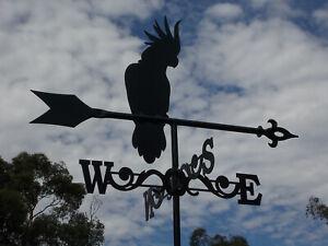 Sulphur Crested Cockatoo Weathervane