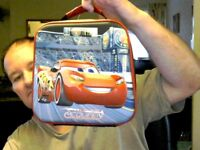 DISNEY CARS MCQUEEN LUNCH COOL CARRY BAG IDEAL BIRTHDAY GIFT!   FREE UK POST