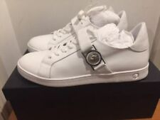 VERSUS VERSACE Lion Head Low Top White Trainers Sneakers UK 6, 7, 8, 9, 10