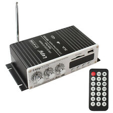 Mando a distancia 100w USB mini auto amplificador estéreo amplifier DVD MMC CD FM mp3