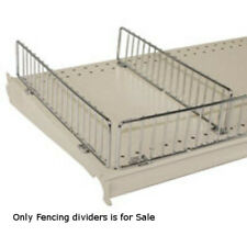 """Front Fencing in Chrome 46.5"""" W x 3"""" H - Lot of 50"""