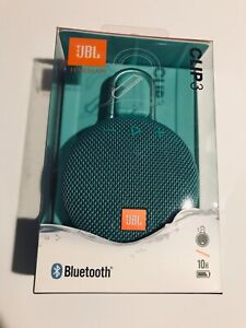 NEW JBL Clip 3 Black Speaker Portable Wireless Bluetooth Waterproof Rechargeable