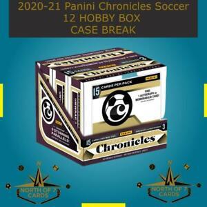 Lucien Agoume - 2020-21 Panini Chronicles Soccer 12 Hobby BOX BREAK #5