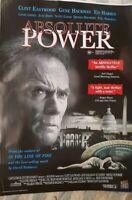 Absolute Power 1 Sheet Movie  Poster Original Aust version