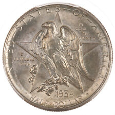 1934 Texas 50C PCGS Certified MS65 US Silver Half Dollar Commem Coin
