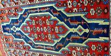 An Antique Persian Mazlagan Woolen Rug circa 1920/30s