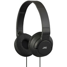 JVC HAS180B Powerful Bass Foldable Headphones for Iphone & Android Smartphones