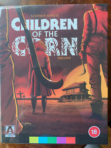 Children of the Corn Blu-ray Box Set 1st Film is 4K UHD Stephen King Arrow Video