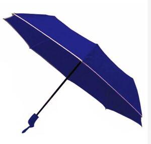 Light Weight Anti-UV Rain Sun Windproof Automatic Umbrella - BLUE