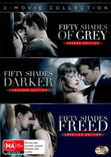 Fifty Shades of Grey (Unseen Edition) / Fifty Shades Dark . - DVD - NEW Region 4