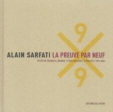 Alain Sarfati La Preuve Par 9 Ardenne P Occasion Livre