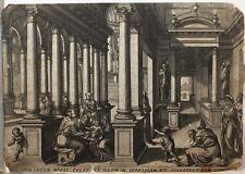 C1585 impresión Gerard Van Groeningen besnijdenis van Christus en de Tempel