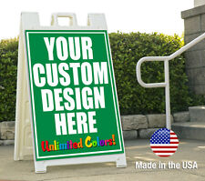 Custom Sandwich Board Frame & Signs