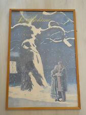 """Affiche """"La Bohème"""" du Metropolitan Opéra de NY"""