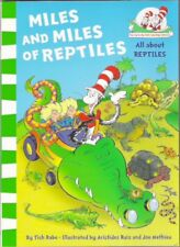 MILES AND MILES OF REPTILES Dr Seuss Cat in Hat Learning Bran New paperback 2011