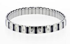 Stretch Surgical Steel Bracelet with Swarovski Stones model 191
