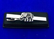 Elephant Tie Clip Elephant Tie Clasp Gift Idea Animal Tie Bar New