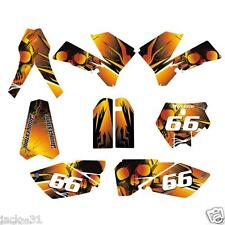 Racing KTM  SX85 SX 85 XC85 XC SX105 Motocross CUSTOM PLATE Kit 2006 2012