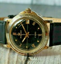 Poljot watch Soviet vintage mechanical wrist mens USSR calendar