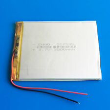 3.7V 3000mAh LiPo Battery 357595 for Tablet PC DVD GPS Camera Recorder PAD Phone