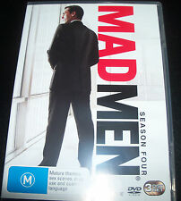 Mad Men Season 4 (Australian Region 4) 3 DVD