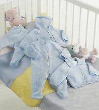 "Baby Knitting Pattern Jackets Leggings 4ply Easy Knit 10-16"" prem sizes 454"