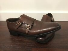 To Boot New York Double Monk Strap Shoes Men's 12 Made in Italy Grant Morgan